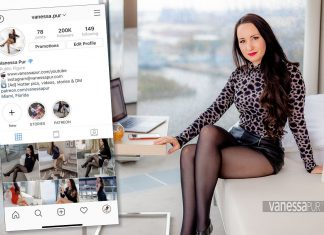 Vanessa Pur Instagram Profile - what to do when profile deleted - new Instagram profile of Vanessa.Pur