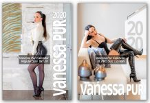 Vanessa Pur Calendar 2020 - regular and PRO/XL version - outfits with stockings, leather, corset, latex, over the knee boots, lingerie, nylon and much more - exclusive and limited edition - worldwide shipping